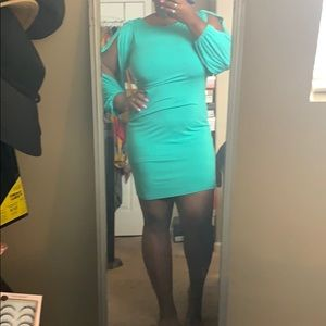 Form fitted dress